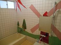 ヒラメ部屋 室内浴室