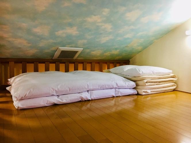 【マグロ】ロフト寝室