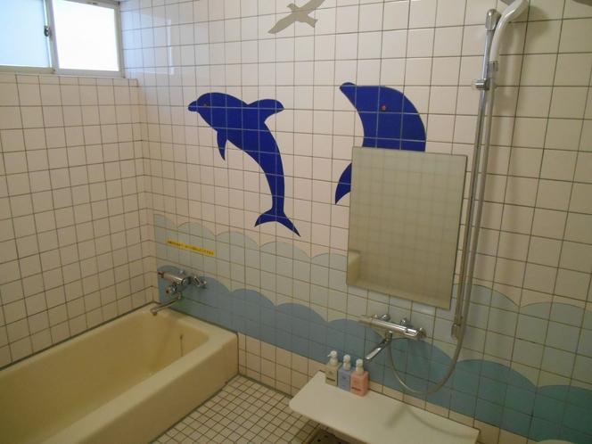 部屋【フグ】 室内浴室