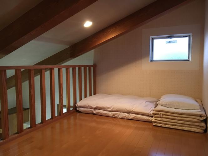【カレイ】ロフト寝室