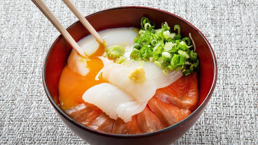 【青函市場・朝食一例】