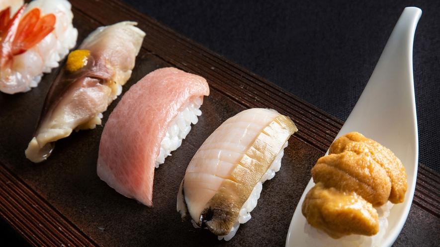 【2021年夏・会席一例】「ザ・寿司」