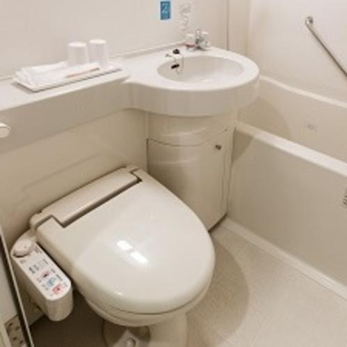 【客室内浴室】ユニットバス 洗浄機付きトイレ