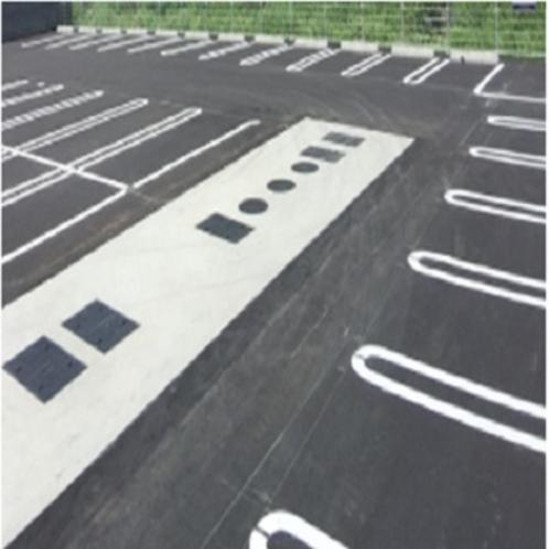 【平面駐車場】 無料です。 ※中、大型車は事前にご連絡をお願いします。(有料)