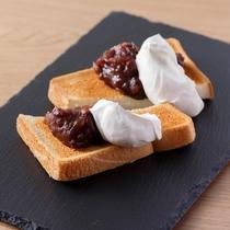 朝食 小倉トースト(イメージ)
