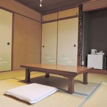 *【和室8畳一例】ご家族やグループでのお泊りに