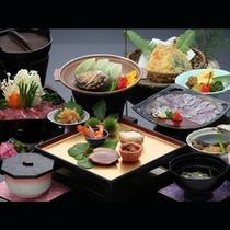 長崎旬の食材を集めた「冬の三大味覚会席」