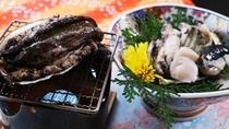 アワビはお刺身・踊り焼き・ステーキ・酒蒸しの中からお好きなものをお選びください♪
