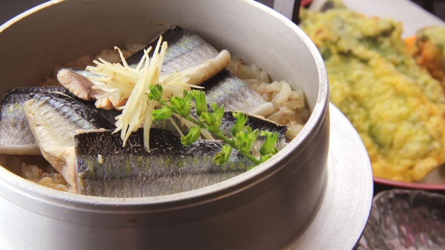 秋刀魚尽くしプラン一例◆サンマの炊き込みご飯