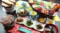 グレードアップのお料理一例☆海のごちそうをどうぞ味わってください!
