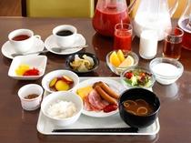朝食ビュッフェ♪