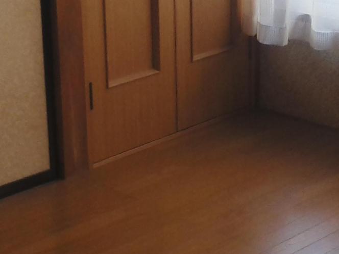 6畳のフローリング