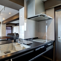 客室3LDK 高級対面キッチン(水素水仕様)
