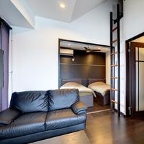 客室1LDK+ロフト