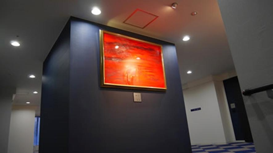 *三箇三郎ギャラリー/函館在住の画家「三箇三郎」の絵画を約30点展示しております。