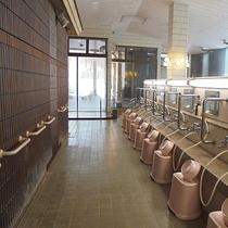 *お風呂(洗い場)/スペースや手すりなどを充実させ、極楽の入浴タイムをご提供差し上げます。