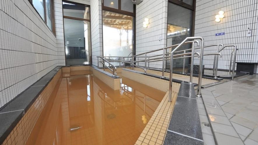 *露天風呂一例/メジャーではない館浦ですが天然温泉がコンコンと湧き出ております!