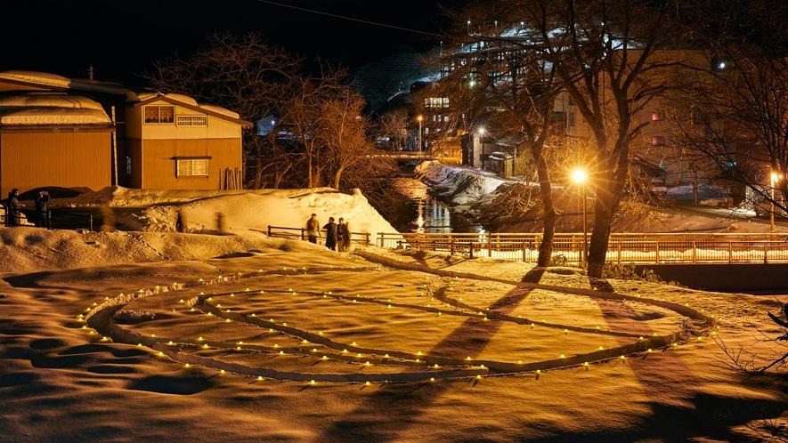 *【周辺観光】肘折幻想雪回廊