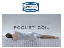 ベッドは全てシモンズのPOKET COILです