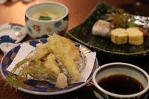 【割烹 東山】お子様夕食 お子様にも食べやすい内容です。