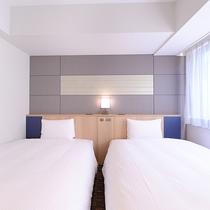 ツインルーム☆120㎝×2台のベッド
