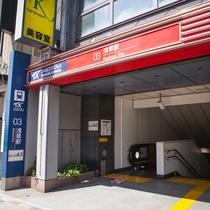 *【アクセス】ホテル最寄銀座線「つくばEX浅草駅」。徒歩1分。