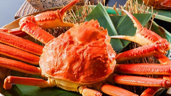 《わんダフルステイ/かに2.5杯》蟹でまんぷく!700gの茹で姿ガニ付き!(朝・夕お部屋食)