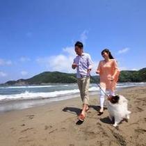 【気比の浜海岸】