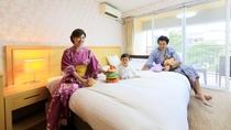 ウェルカムベビールーム。赤ちゃん連れにも優しい施設を目指しております!