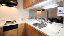 キッチン付きのお部屋もございます。別荘のようにご利用下さい。