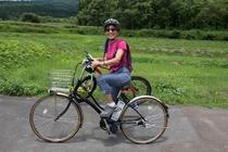 妙高高原セラピーロードでサイクリング
