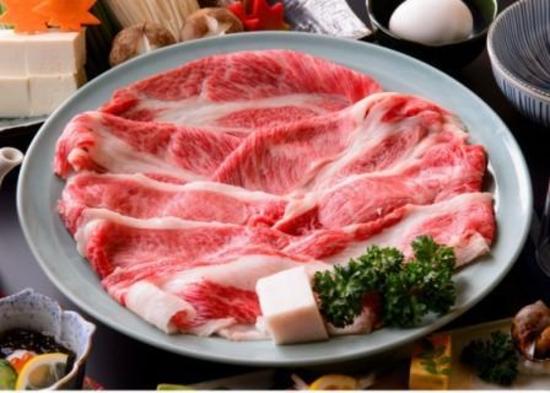 松阪肉すき焼き付きグルメプラン☆並肉