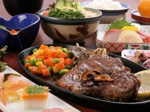 夕食は松阪肉ミニ・ヒレステーキ付きコース♪グルメプラン★松阪牛をリーズナブルに♪