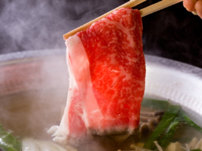 松阪肉しゃぶしゃぶ・特上