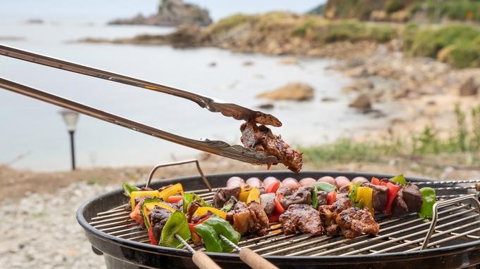 【楽天トラベルセール】夏だ!海を見ながら【BBQプラン♪】国産牛・八鹿豚・カニ!