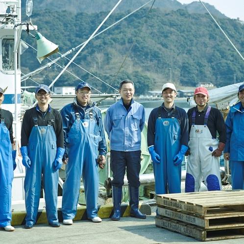 【松栄丸】海のスタッフたち♡