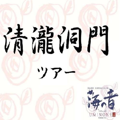 宿泊者限定のカヌーツアー【清瀧洞門ツアー】