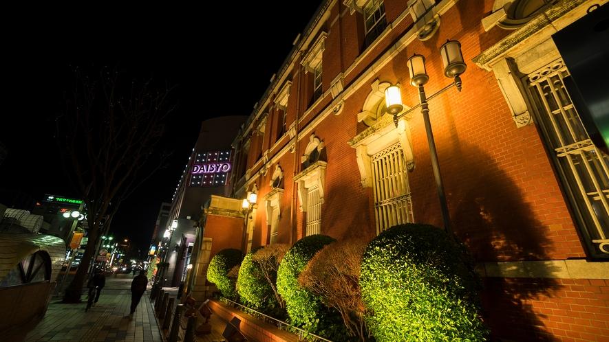 【市街地】ライトアップされた街並みがとてもロマンチック★