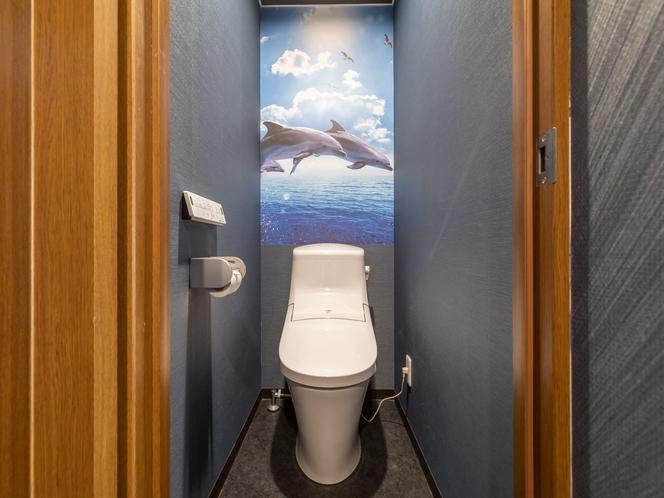 【禁煙】和室1~4名様 トイレ