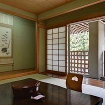 和室10畳 静かに流れる時間をお楽しみ下さい。