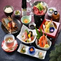 2019年 冬 紫御膳 ~ 旬の食材を厳選し、心を込めてお届けする和食膳。ゆらりの定番!(