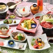 2020年 春 紫御膳 ~旬の食材を厳選し、心を込めてお届けする和食膳。ゆらりの定番~