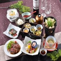 ●至福● 冬の美食会席で旬を堪能