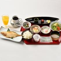 *朝食は和定食をご用意いたします