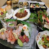 記念日プラン 夕食一例
