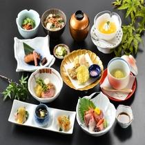 2019年 夏 菊御膳 ~ 旬の食材を厳選した、ボリューム控えめの和食膳