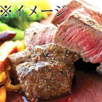 *【活きなり会席】メインのステーキはボリューム満点!