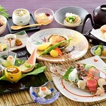 【極(夏)】越前の味覚を極めた豪華爛漫な会席料理♪