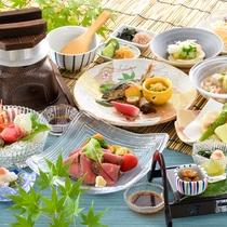 【雅(夏)】北陸の旬を味わう彩豊かな会席料理♪