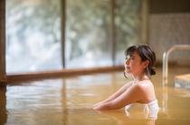 ホテル自慢の天然温泉「香肌(かはだ)の湯」